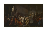 Death of Caesar Prints by Vincenzo Camuccini