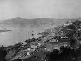 The Riverfront of Chongqing (Chungking), China in Jan. 1944 Photo