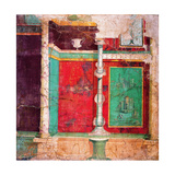 Color Panels of Mural with Candleholder, C. 20-10 BC Prints