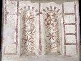 Niches Decorated with Geometrical Patterns, 925-50, Church of Sts. Peter and Paul, Gemonio, Italy Prints