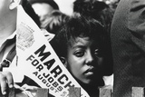 Young Woman Demonstrator at the March on Washington for Jobs and Freedom Photo