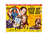 Annie Get Your Gun, 1950 Posters