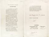 Germany Surrender Document Signed by Gen. Alfred Jodl, Chief of Staff of the German Army Photo