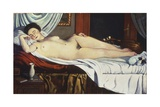 Sleeping Venus, (Naked Woman on a Bed) Woman Art by Pietro Marussig