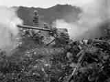U.S. Army Gunner (Crouching Foreground), Fires a 75Mm Recoilless Rifle Posters