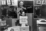 Maytag Clothes Washer Exhibit at the Champlain Valley Exposition, Vermont in Aug. 1941 Photo