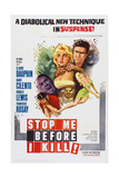 Stop Me before I Kill, (Aka the Full Treatment), Top L-R: Diane Cilento, Ronald Lewis, 1960 Posters