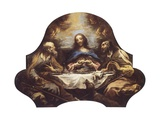 Supper at Emmaus Giclee Print by Alessandro Magnasco