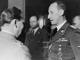 Reinhard Heydrich Speaking with Hermann Goering at Goering's Birthday Celebration, Jan. 12, 1942 Photo