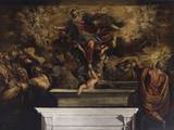 Assumption of the Virgin Print by Jacopo Robusti Tintoretto