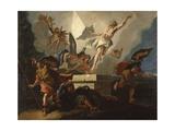 Resurrection of Christ Giclee Print by Francesco Fontebasso