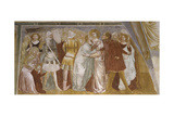 Arrest of Christ with Kissing Judas, 14th C. Saint Augustine Abbey, Vicenza, Italy Art