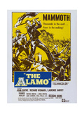 The Alamo, Richard Widmark, (Left), John Wayne, (Center), 1960 Poster