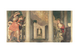 Annunciation Poster von Paolo Veronese