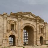 Hadrian's Arch, Jerash, Jordan, 129 Photo