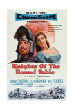 Knights of the Round Table, Robert Taylor, Ava Gardner, 1953 Prints
