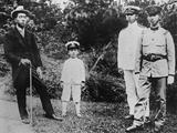 Four Sons of the Mikado in the Emperor's Garden at Nikko Villa Photo