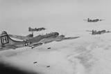 U.S. Far East Air Forces Bomber Command Bomb North Korean Enemy Supply Centers Photo