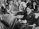 Republican Presidential Candidate Thomas Dewey Signing Autographs in Louisville, Kentucky Poster
