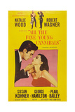 All the Fine Young Cannibals, Robert Wagner, Natalie Wood, 1960 Print