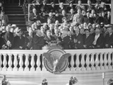 President Harry Truman Being Sworn into Office for His Second Term, Jan. 20, 1949 Photo