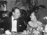 First Lady Mamie Eisenhower and Actor John Wayne at Political Dinner, June 8, 1959 Photo
