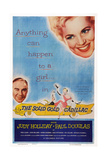 The Solid Gold Cadillac, from Left: Paul Douglas, Judy Holliday, 1956 Posters