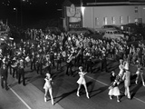 Majorettes Lead the Fire Prevention Week Parade in Oak Ridge, Tennessee Prints by Ed Westcott