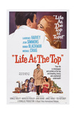 Life at the Top, Laurence Harvey (Bottom Center), Jean Simmons (Bottom Right), 1965 Plakater