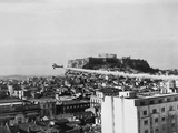 A Plane Dusts the Ancient City of Athens with DDT Prevent the Spread of Cholera Prints