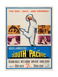 South Pacific, Mitzi Gaynor, 1958 Affiches