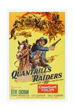 Quantrill's Raiders, Steve Cochran, 1958 Prints