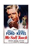 Mr Soft Touch, from Left: Glenn Ford, Evelyn Keyes, 1949 Prints