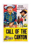 Call of the Canyon, from Left: Gene Autry, Smiley Burnette (Gun), 1942 Prints
