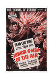 Junior G-Men of the Air, Chapter 4: 'The Tunnel of Terror,' 1942 Prints