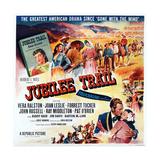 Jubilee Trail, Bottom Right: Forrest Tucker, Vera Ralston, 1954 Posters