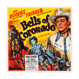 Bells of Coronado, Left and Right: Roy Rogers; Center: Dale Evans, 1950 Posters