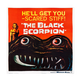 The Black Scorpion, Left: Mara Corday, 1957 Posters