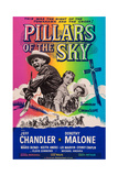 Pillars of the Sky, from Left: Jeff Chandler, Dorothy Malone, Keith Andes, 1956 Posters