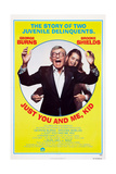Just You and Me, Kid Art, from Left: George Burns, Brooke Shields, 1979 Prints
