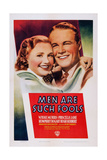 Men are Such Fools, from Left: Priscilla Lane, Wayne Morris, 1938 Prints