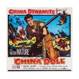 China Doll, from Center: Victor Mature, Li Li Hua, 1958 Posters