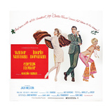 Cactus Flower, Ingrid Bergman, Walter Matthau, Goldie Hawn, 1969 Poster
