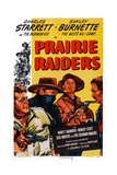 Prairie Raiders, Charles Starrett (Masked), Smiley Burnette, Hugh Prosser, 1947 Prints