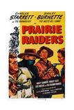 Prairie Raiders, Charles Starrett (Masked), Smiley Burnette, Hugh Prosser, 1947 Prints