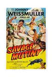 Savage Mutiny, 1953 Posters