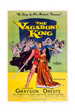 The Vagabond King, Oreste Kirkop, Kathryn Grayson, 1956 Print