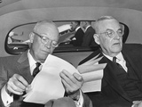 President Dwight Eisenhower and Secretary of State John Foster Dulles, Oct. 25, 1954 Posters