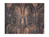 Ceiling of the Palatine Chapel Print
