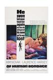 Of Human Bondage, Kim Novak, 1964 Poster